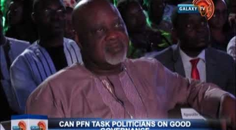 CAN, PFN  Task Politicians on Good governance