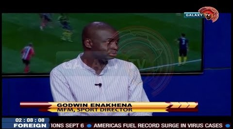 Nigeria Sports Analyst and MFM Sport Director Godwin Enakhena talks on NPFL amidst Covid19 Pandemic.