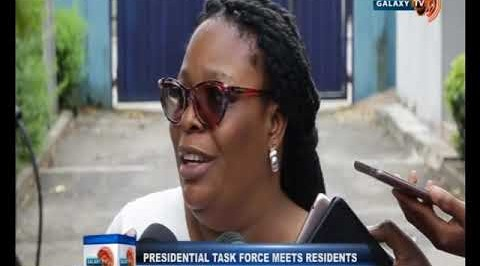 Presidential Task Force Meets Residents of Apapa on the Traffic Situation in the Area