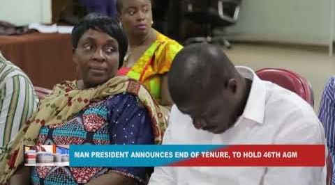 MAN president announces end of tenure
