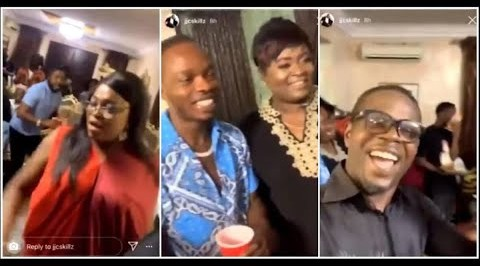 Funke Akindele Arrested for Hosting a Birthday Party in her House During the Lockdown