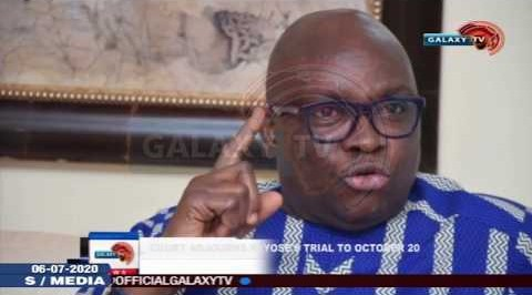 Court Adjourns Fayose's Trial to October 20, 2020.