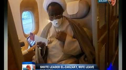 Shiite Leader El Zakzaky, Wife Leave for India
