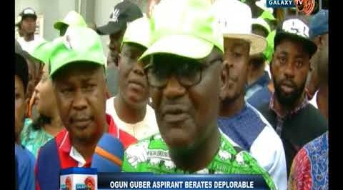 Ogun guber aspirant berates deplorable state of roads