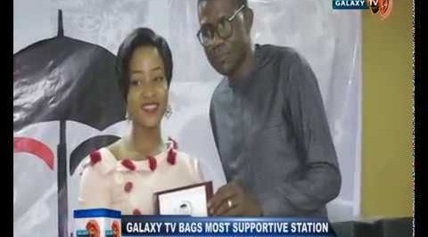Galaxy TV Bags Most 'Supportive Station in Entertainment, Promotion'