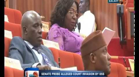 Senate Probe Allerged Court Invasion by DSS