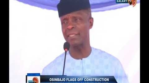 Osinbajo Flags off Construction of Kajola Wagon Assembly Plan
