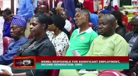 SMEs responsible for significant employment, income generation- UNIC