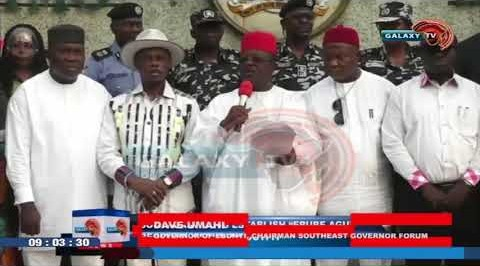 Southeast Governors Establish Regional Security Outfit