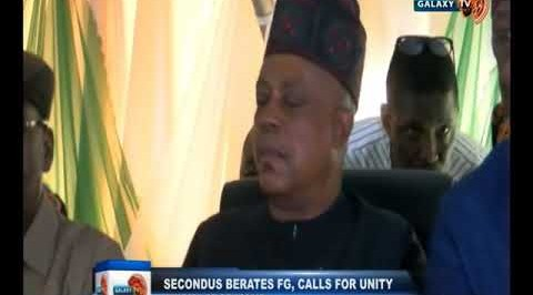 The National Chairman of PDP Uche Secondus Says APC has not made any Meaningful  Achievement but onl