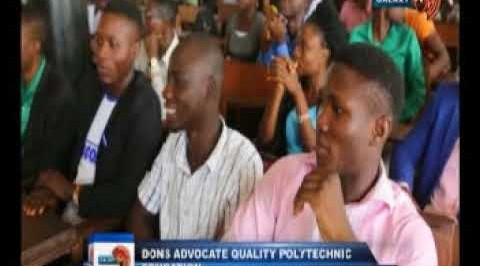 Dons advocate quality Polytechnic education