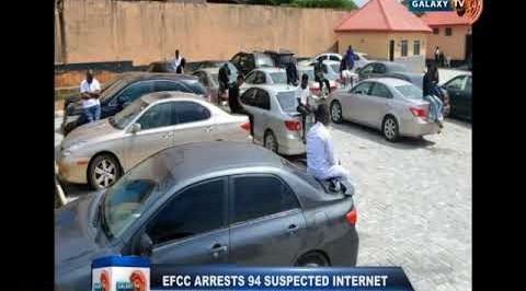 EFCC Arrests 94 Suspected Internet Fraudsters