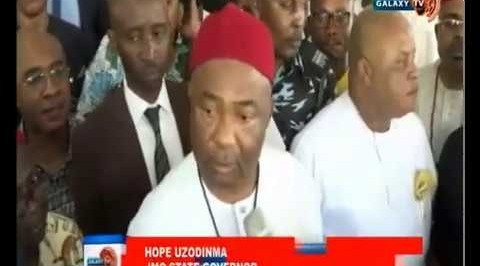 INEC Issues Certificate of Return to Hope Uzodinma