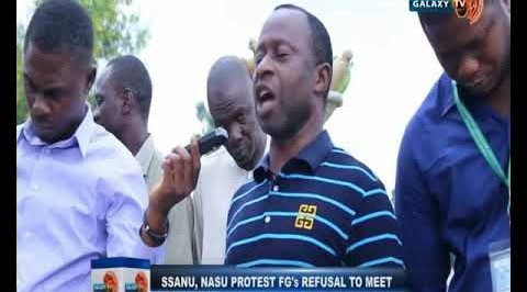 SSANU, NASU Protest FG's Refusal to Meet Demands.