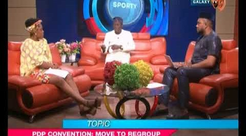 Galaxy Today: PDP Convention - Move to regroup