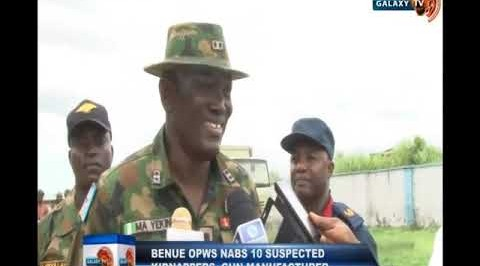 Benue OPWS Nabs 10 Suspected Kidnappers, Gun Manufacturer