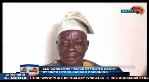 CLO condemns Police officer's death by NNPC hydro-carbon poisoning
