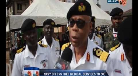 NAVY OFFER FREE MEDICAL SERVICE TO OTA RESIDENT