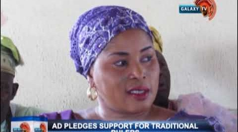 AD pledges support for traditional rulers