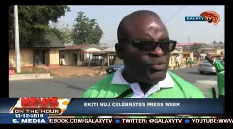 Ekiti NUJ celebrates press week