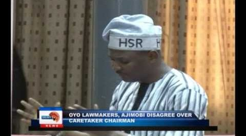 Oyo lawmaker, Ajimobi disagree over caretaker chairman