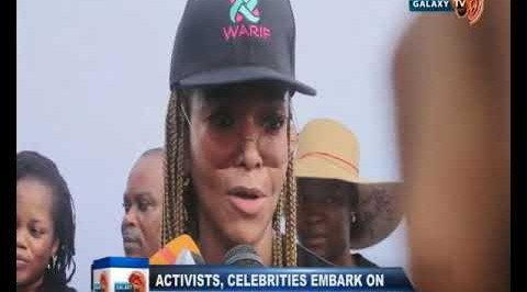 Activists, Celebrities Embark on 'No Tolerance' March Against GBV