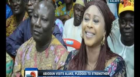 Abiodun visits Alake, pledges to straighten traditional institutions