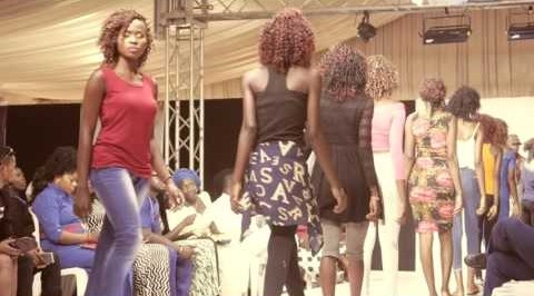 NTFS Ibadan: see beautiful models catwalk on the walkway