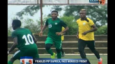 Flying Eagles Defeat South Africa, Face Morocco on Friday