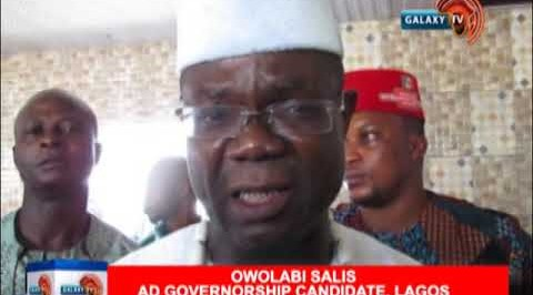 OWOLABI SALIS SAYS HE REMAINS THE MAN TO BEAT