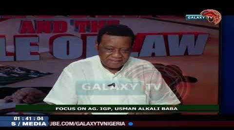Focus on Police IG, Usman Alkali Baba