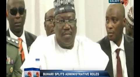 Buhari Splits Administrative Roles Between SGF, Chief of Staff
