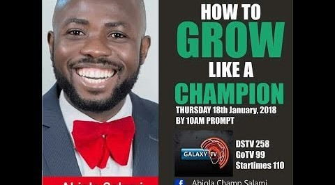 Galaxy Today: How to grow like a Champion