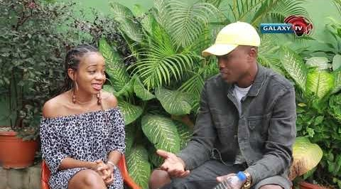 Funke interact with Vector on Celebrity Zone