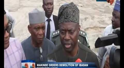 Makinde Orders Demolition of Ibadan Torture Home