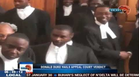 Donald Duke Hails Appeal Court Verdict