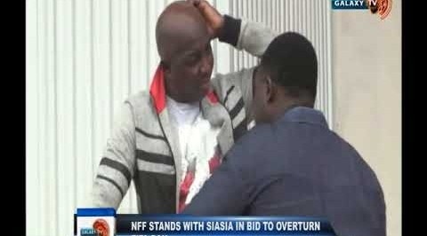 NFF Stands with Siasia in Bid to Overturn Fifa Ban