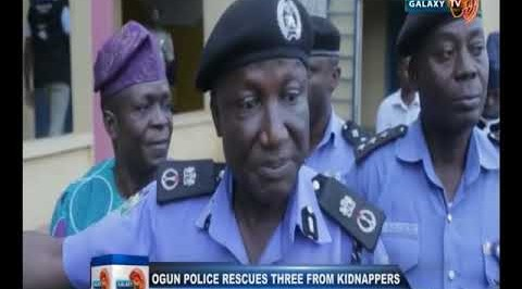 Ogun Police Rescues Three from Kidnappers Den