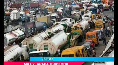 Outrage over Mile 2, Apapa gridlock