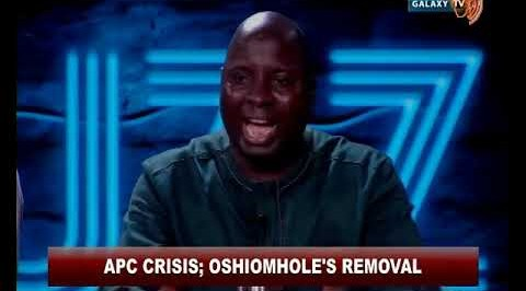 APC Crisis; Oshiomhole's Says Does Aiming for the Presidential Seat in 2023 are the ones after him