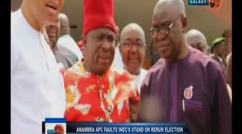 INEC declares Victor Umeh winner of Anambra Re-run