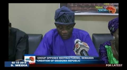 Group demands creation of Oduduwa Republic