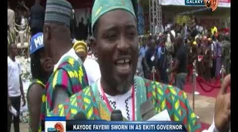 Kayode Fayemi sworn-in as Ekiti governor