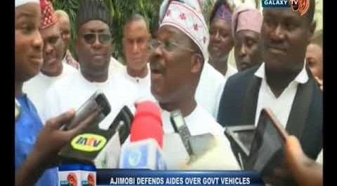 Former Governors of Oyo State Abiola Ajimobi Defends Aids Over Government Vechicles