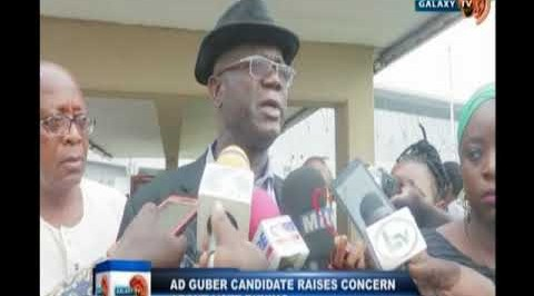 AD guber candidate raises concern on vote buying