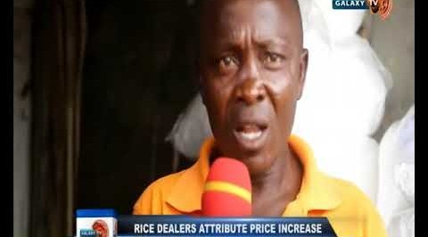 Rice  Dealers Attribute Price Increase to Border Closure