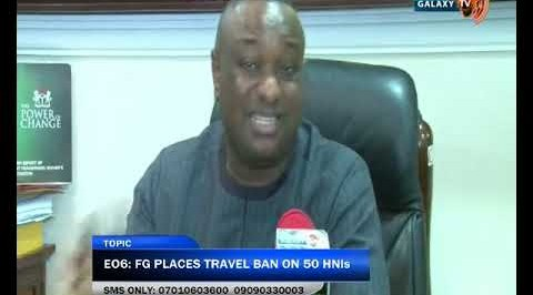 Why Buhari places travel ban on 50 Nigerians