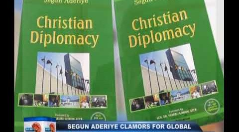 Segun Aderiye clamors for global peace in Christian diplomacy