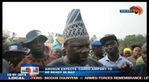 Amosun Expects Cargo Airport To Be Ready In May