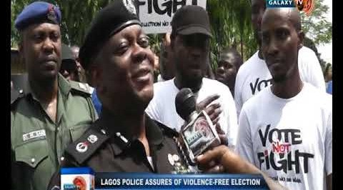 Lagos Police Assures Of Violence free Polls